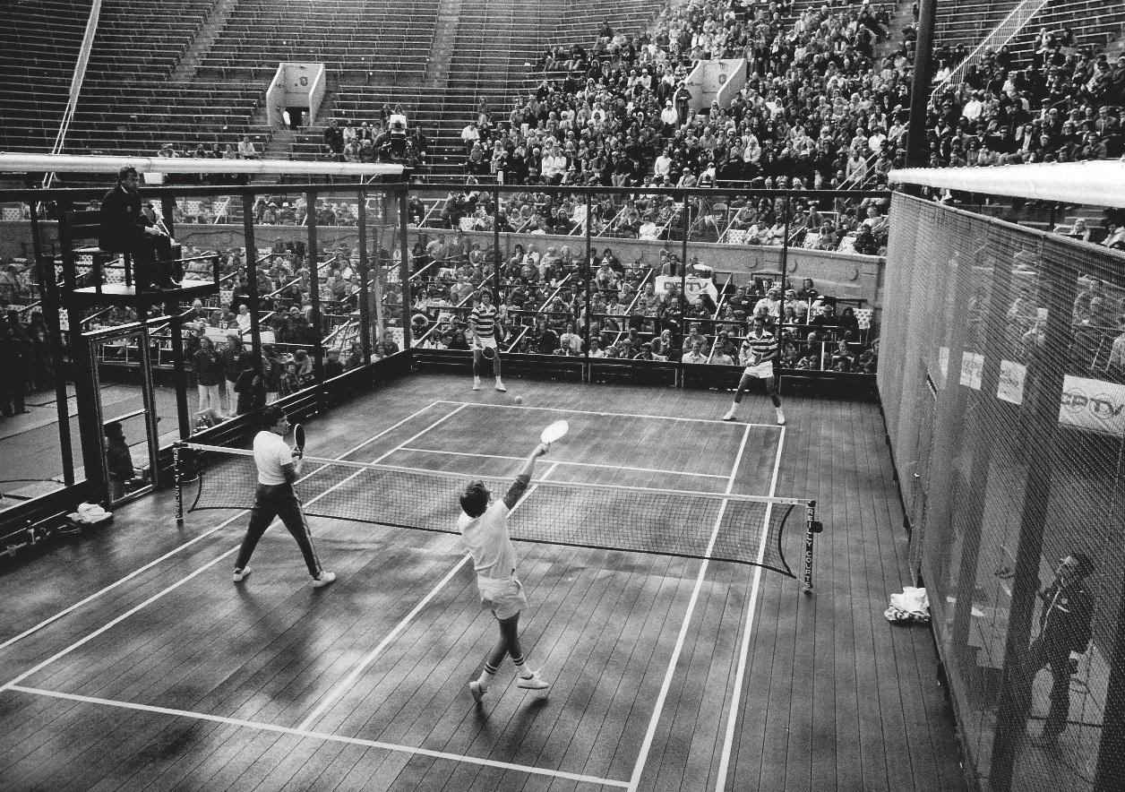 Padel's origins, Platform Tennis